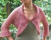 Romantic Shrug - pdf crochet pattern