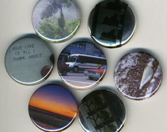 """Custom Buttons. 1 inch. 1"""". 100 pieces. Pinback. Made to order. Make a statement. Team building. Wedding and party favors."""