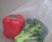 Reusable Produce Bags - Set of 3 Recycled (S, M, L)