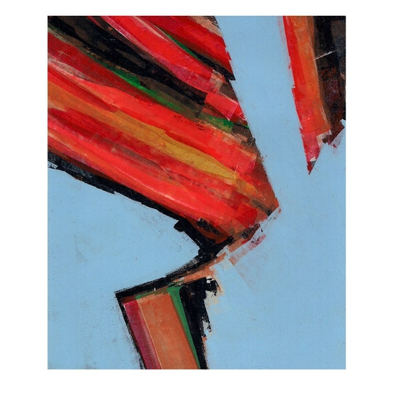 Y Series Number 6 - Original Abstract Painting - 8 x 10 inches