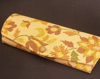 Vintage Eyeglass Case Yellow A102