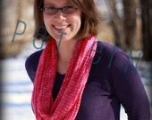 Meditation Infinity Scarf (pdf knitting pattern)