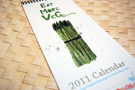 Eat More Veg 2011 Calendar