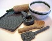 Baker's Supplies - Crochet Pattern