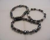Ladies triple strength magnetic bracelet