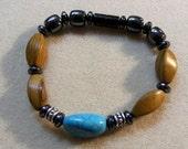 Men's Turquoise Magnetic Bracelet