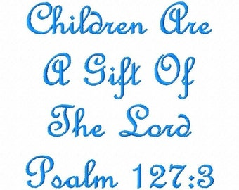 Bible Verses Embroidery Machine Design Patterns Digital Download