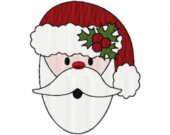 Fun Santa Christmas Embroidery Machine Design Patterns Digital Download