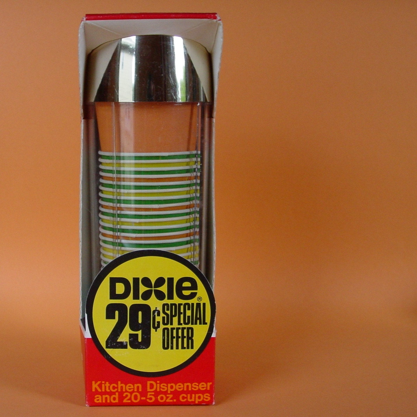 Dixie Kitchen: 1970 Dixie Cup Dispenser By Sirkus On Etsy