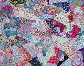100 Liberty of London Tana Lawn Quilt Blocks - 4 x 4 inch Squares - FREE shipping