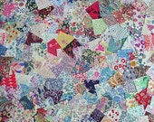 200 Liberty of London Tana Lawn Quilt Blocks - 2 x 2 inch Squares - My last squares