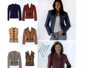 Simplicity 4953 womens vest and jacket sewing pattern Bust 30 1/2 to 34