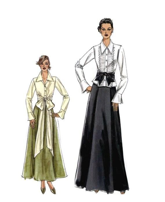 Long Skirt Sewing Pattern 6