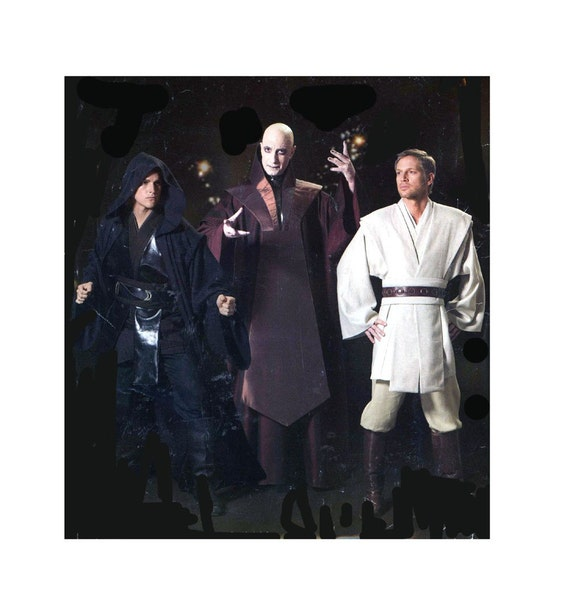 Simplicity 0579 Star Wars Costume sewing pattern, Adults XS to XL