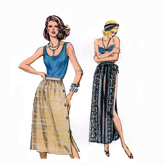 Summer Resort tank top skirts Sewing pattern Kwik Sew 1091 sizes 6-12 Uncut