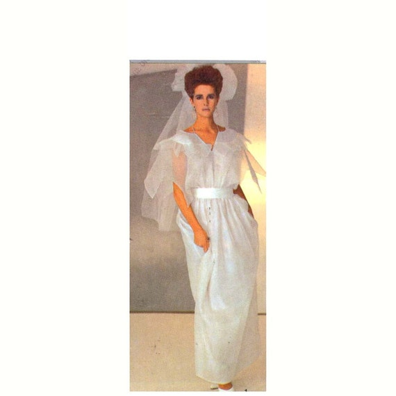 Style 4399 Grecian goddess wedding gown evening dress sewing pattern Bust 34