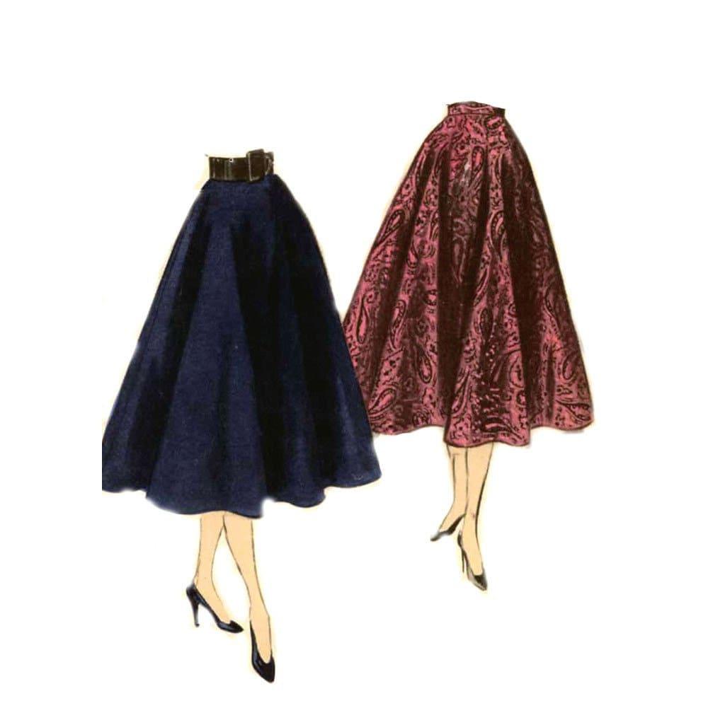 Circular Skirt Patterns 62