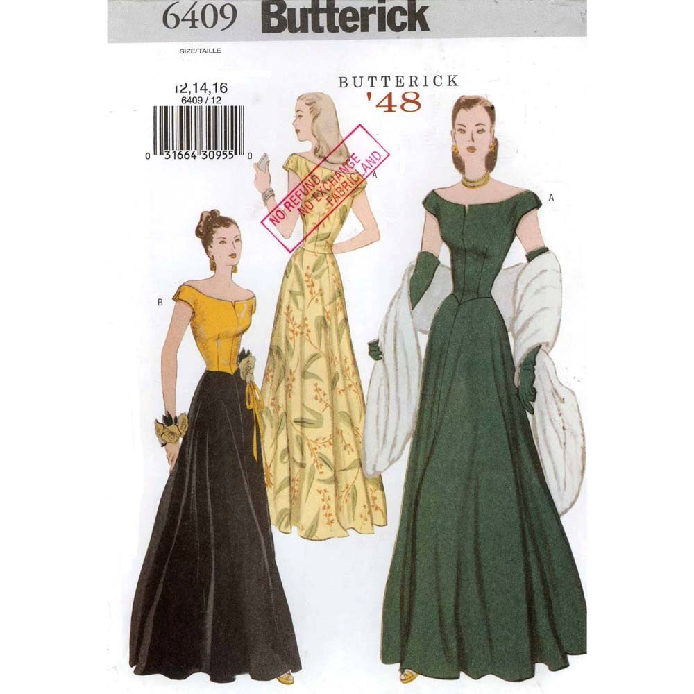 Sewing Patterns For Evening Dresses