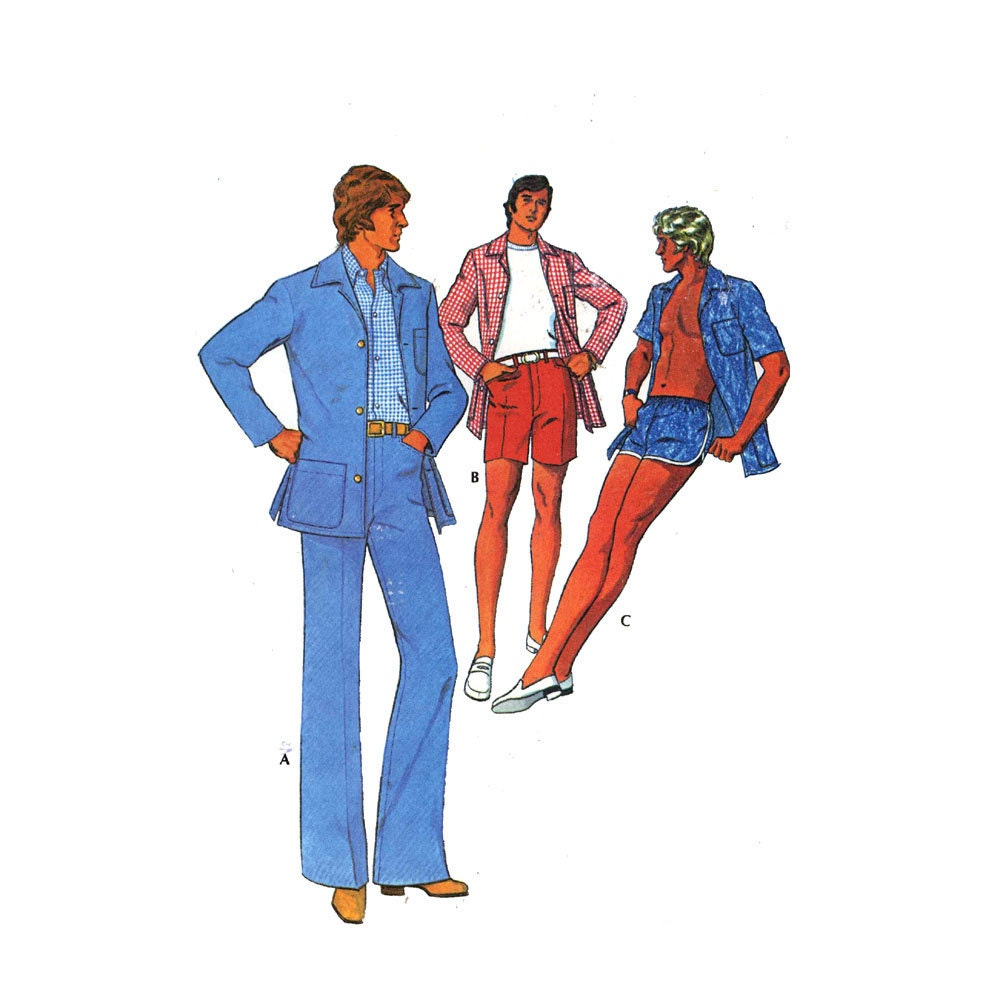 Renaissance Wedding Dress Costume History Mccall S By Heychica: Mens Swim Trunks Pattern Jacket Pants Walking Shorts By