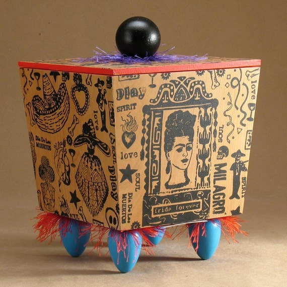 Day of the Dead Art Box