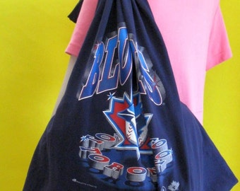 Grocery Market Tote Bag Toronto Blue Jays Paper and Plastic Alternative Bag/Tote by fashiongreentbags