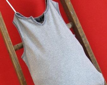 Tote Bag Gray V Grey V Reusable Bag/ Tote