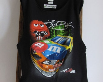 Grocery Market Tote Bag M & M Race Car Reusable Tote by Fashion Green T Bags