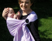 Ring Sling Baby Sling/Carrier - Pure Silk - DVD - see shop for more