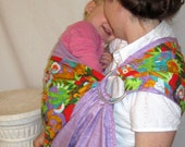 Sale Ring Sling Baby Carrier w LPK Original Edge - -tutorial DVD - Ready to Ship