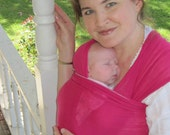 Baby Sling Woven Baby Wrap Carrier - Airy Cotton Gauze - 18 colors in shop