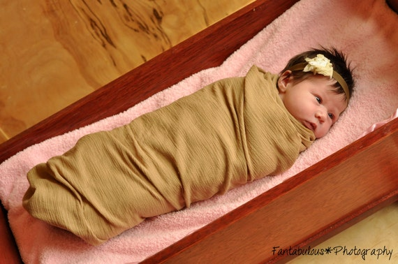 4 Swaddler Receiving  Blankets - Airy Oversized Swaddling Gauze Wraps w rolled edge - 20 choices