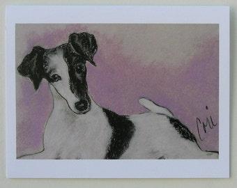Fox Terrier Dog Art Note Cards By Cori Solomon