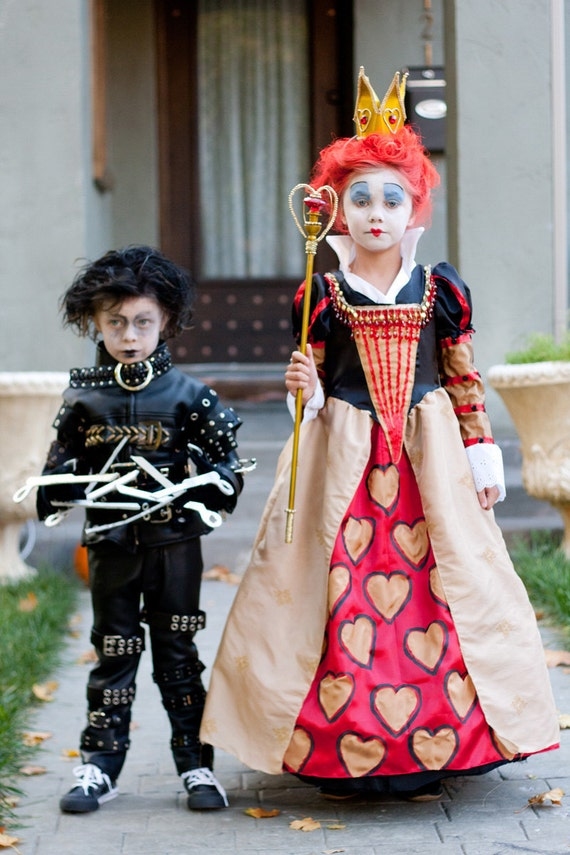 Tim burton children 39 s costumes edward scissorhands or for Children s halloween costume ideas