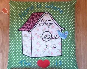 Cuckoo Clock Cushion Cover