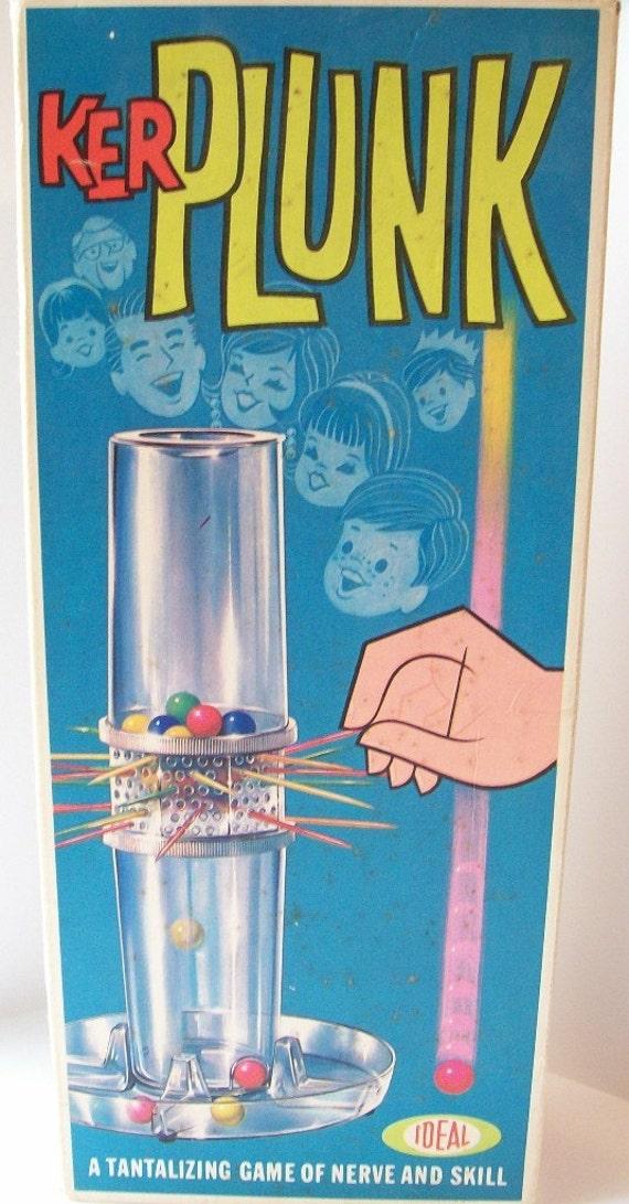 Vintage 1967 KerPlunk  Game