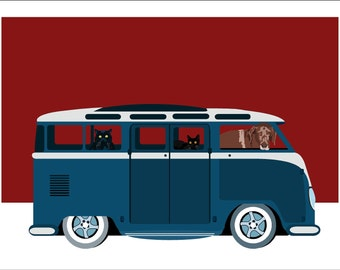 My dream vintage WV van
