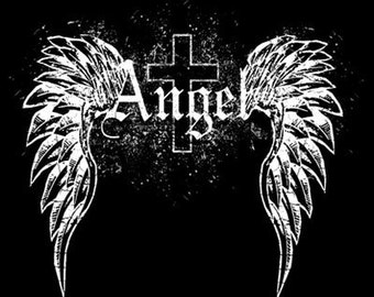 Angel wings - Sweatshirt - U Pic Size and Collar - Small to XXLarge