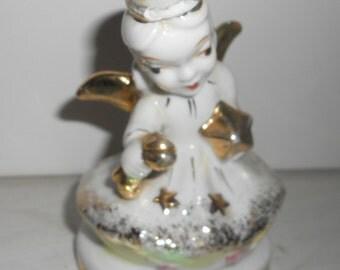 vintage Gold trimmed Angel for the Holidays
