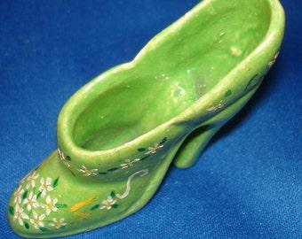 Miniature Vintage Souvenir Shoe