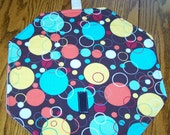 Reusable no waste Lunch sandwich snack wrapper Circles
