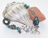 Turquoise Fish Bracelet