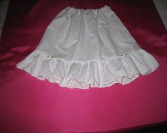 Little Girl's petticoat