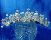 Katrina Tiara Bridal Comb //Price Reduced