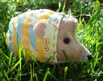 Hedgehog e-pattern Quick Stitch
