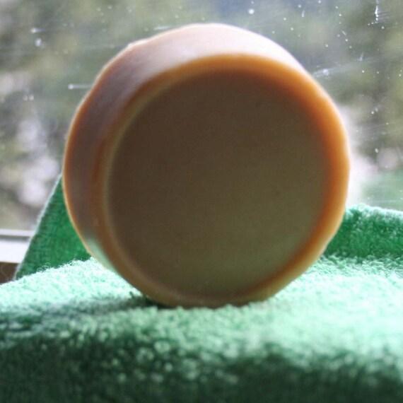 Orange Creamsicle Rich Goat's Milk Shaving Soap