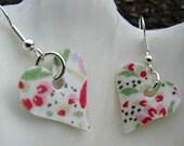 Floral Heart Earings
