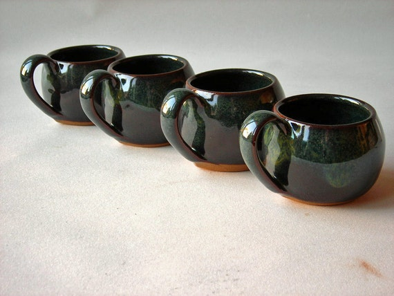 Espresso Cups Demitasse Set of 4