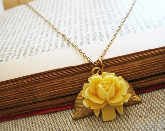 Bright Bloom . Vintage Rose, Delicate Brass, and Classic Loveliness