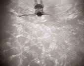 Swimmer  I  6inch square fine art print photography