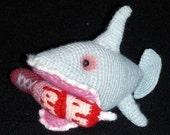 Amigurumi Shark crochet pattern PDF Baron Ripper Von Sharkenstein